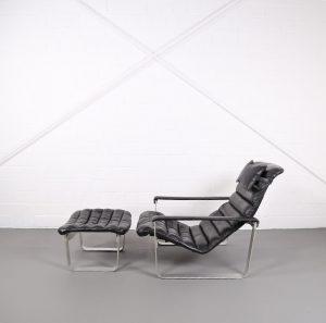 Ilmari Lappalainen Pulkka lounge chair Scandic Design Vintage