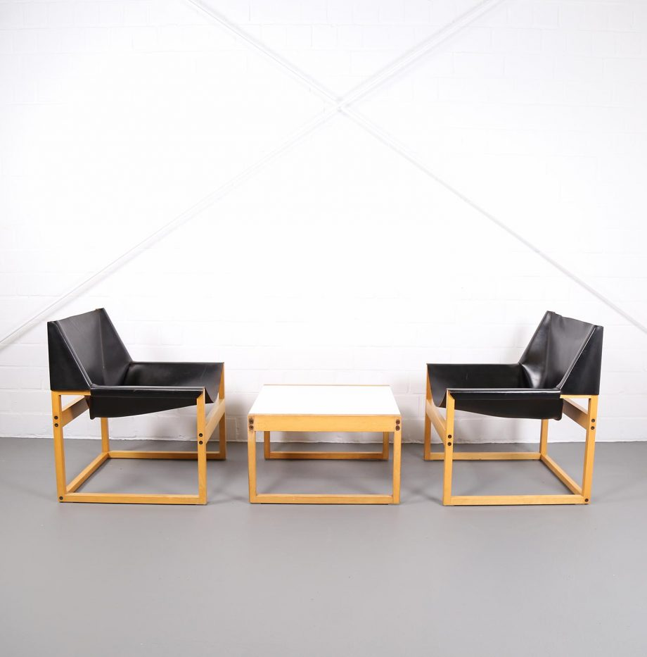 Architect_Armchairs_Sidetable_Architekt_Schell_Goettingen_Graphical_Leather_Easy_Chairs_60er_25