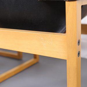 Architektenstühle Coffee Table Architect Easy Chairs Dickleder Cube Kubus Bauhaus Vintage Design