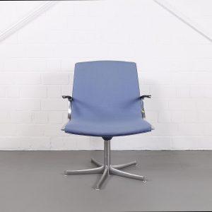 Kill International Wlter Knoll Preben Fabricius Jorgen Kastholm Chair Sessel Konferenzsessel Vintage Design Eames gebraucht