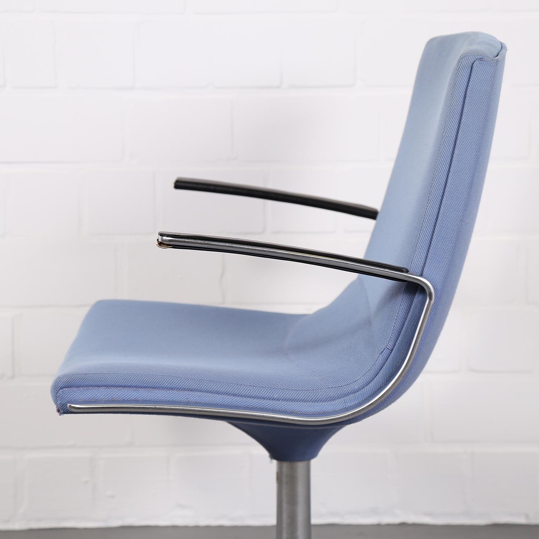 conference chair by j rgen kastholm and preben fabricius for walter knoll dekaden. Black Bedroom Furniture Sets. Home Design Ideas