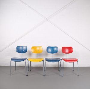 Wilde & Spieth Egon Eiermann SE68 Stuhl Chair Bauhaus Design Vintage Retro