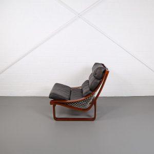 Fred Lowen Tessa T4 Lounge Chair Danish Design Teak Ledersessel Vintage Luxus Retro gebraucht kaufen