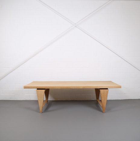 Coffee Table ML 115 by Illum Wikkelsø for Mikael Laursen Oak