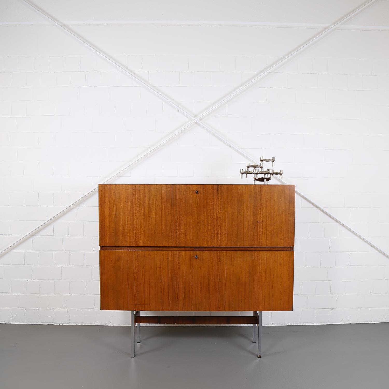 musterring sideboard credenza teak danish design 60er 70er 4 dekaden. Black Bedroom Furniture Sets. Home Design Ideas