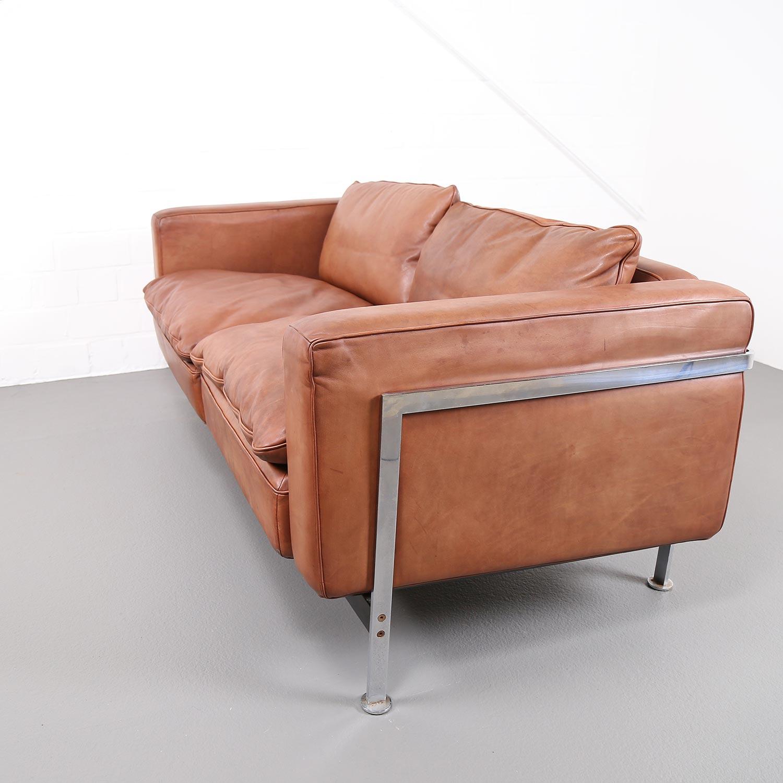 robert haussmann de sede rh 302 leather sofa dekaden. Black Bedroom Furniture Sets. Home Design Ideas