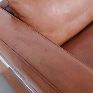 Robert Haussmann De Sede_Ledersofa RH 302 Cognac Vintage Design Couch