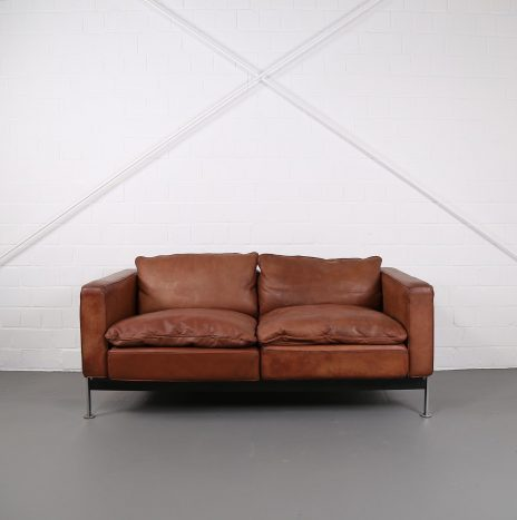 Robert Haussmann De Sede RH 302 Leather Sofa