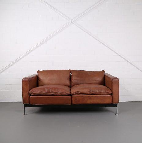 Robert Haussmann De Sede RH 302 Leather Sofa