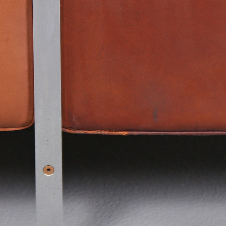 robert haussmann de sede ledersofa rh 302 cognac vintage design couch 8 dekaden. Black Bedroom Furniture Sets. Home Design Ideas