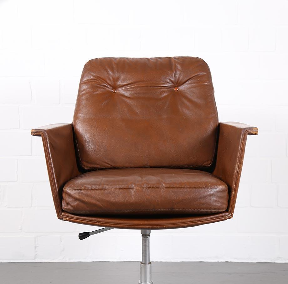COR_Sedia_Horst_Bruening_Ledersessel_70er_Vintage_Sessel_Easy_Chair_gebraucht_akufen_2