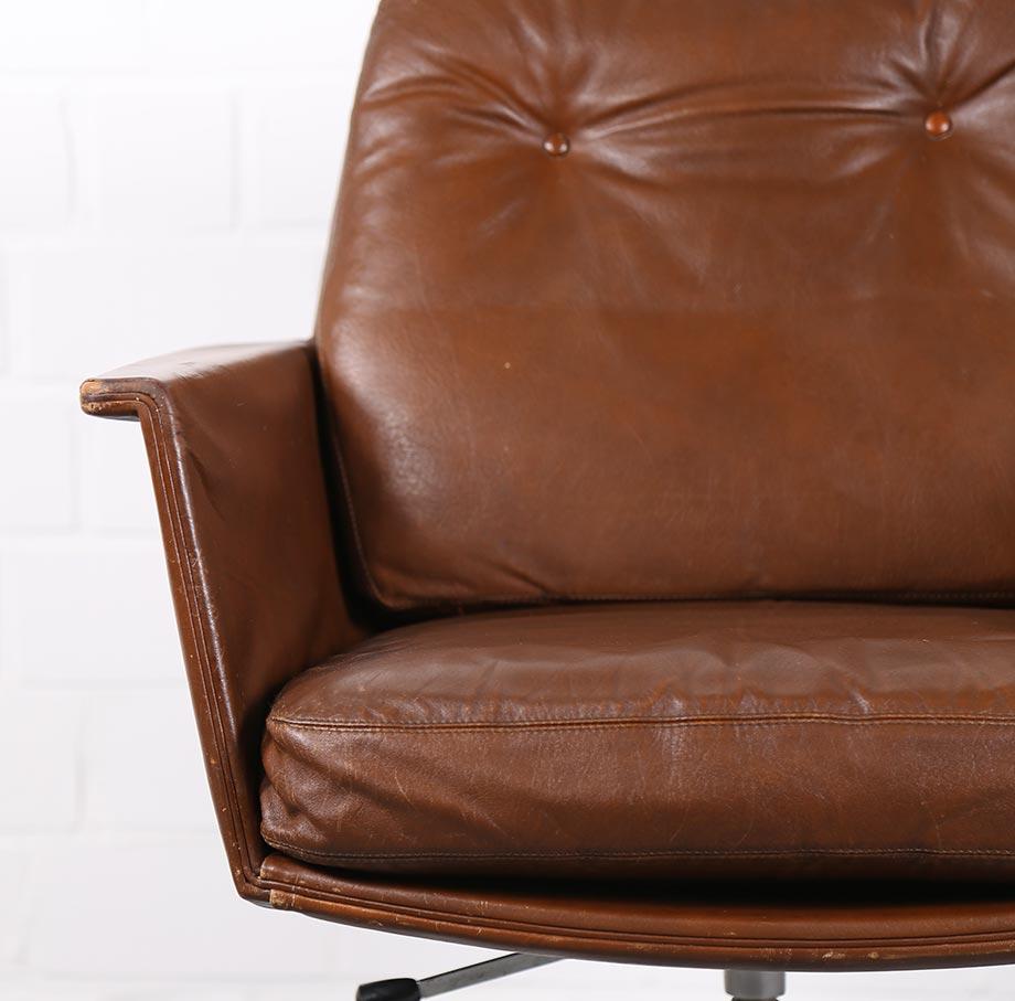 COR_Sedia_Horst_Bruening_Ledersessel_70er_Vintage_Sessel_Easy_Chair_gebraucht_akufen_5