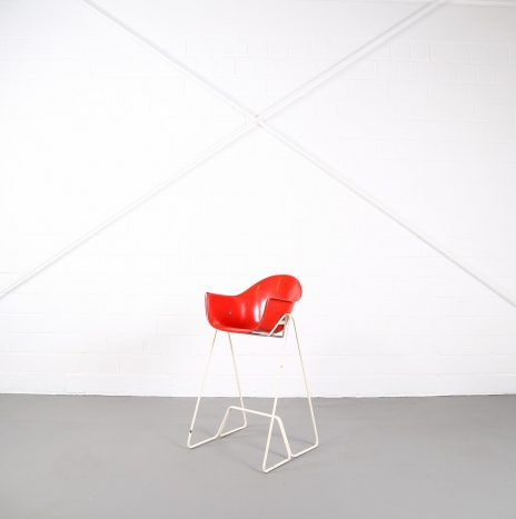 Rare Kids Highchair by Walter Papst for Wilkhahn