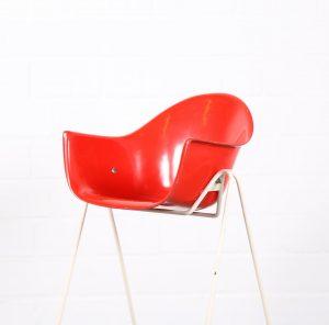 Wilkhahn Walter Papst gebrauchter Kinderstuhl Kids Chair Schalenstuhl Charles Eames Designklassiker Vintage Midecentury Modern gebraucht kaufen onliine