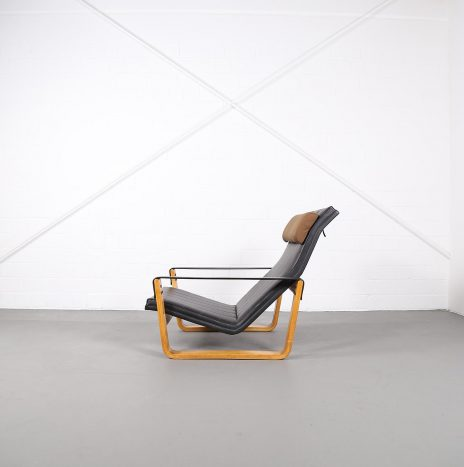 Ilmari Lappalainen Pulkka Asko Lounge Chair Wooden Edition