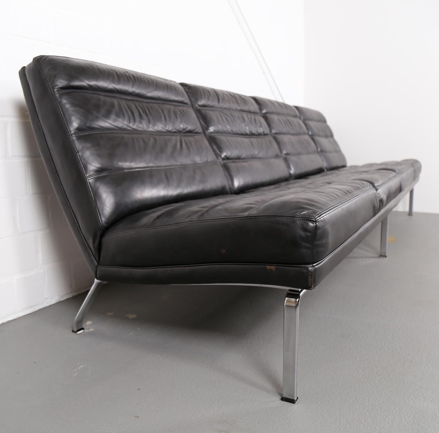 4 seater leather sofa horst br ning for kill international for Sofa 60er gebraucht