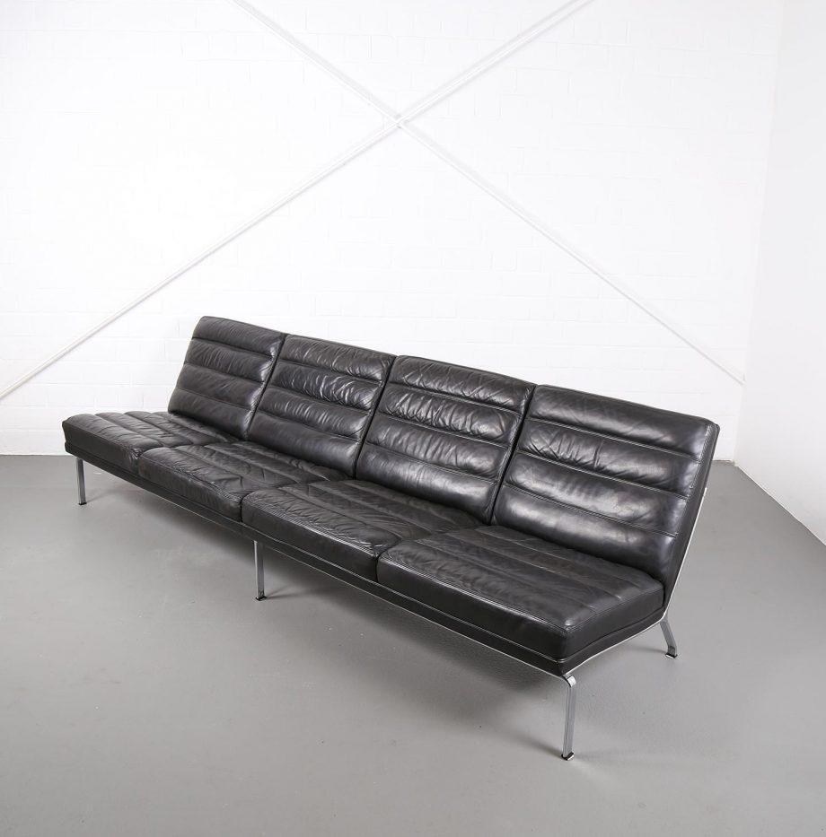 kill_international_horst_bruening_sofa_ledersofa_kastholm_designklassiker_knoll_black_leather_vintage_13