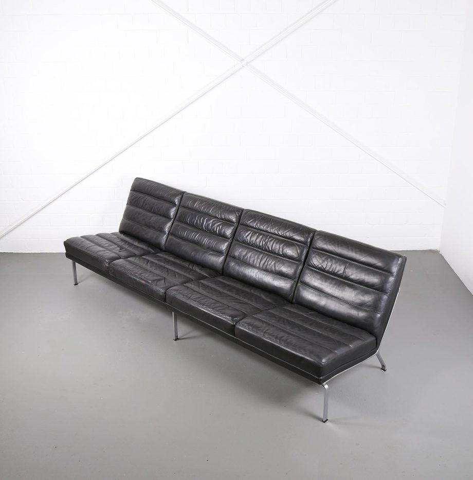kill_international_horst_bruening_sofa_ledersofa_kastholm_designklassiker_knoll_black_leather_vintage_14