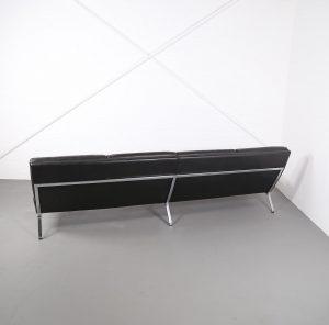 Kill International Horst Brüning Ledersofa selten Leather Sofa Couch auf Metallrahmen Vintage Designklassiker gebraucht kaufen