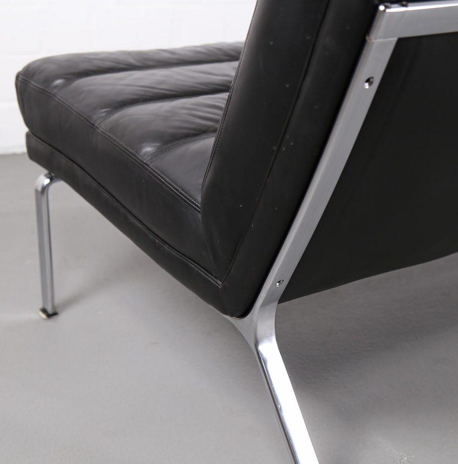 kill_international_horst_bruening_sofa_ledersofa_kastholm_designklassiker_knoll_black_leather_vintage_22