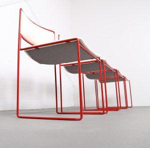 Kill International Jprgen Kastholm Preben Fabricius Stacking Chairs Stapelstühle 60er Vintage Design Modern Original