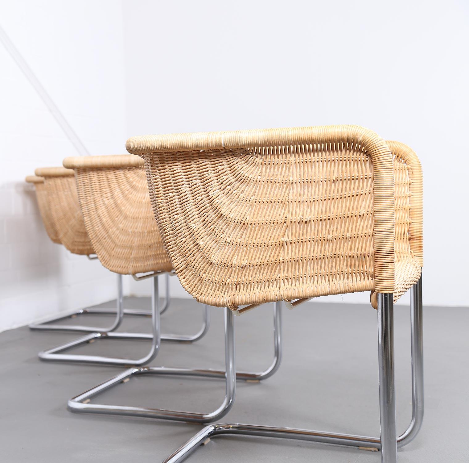 bauhaus chairs d43 stahlrohr freischwinger by tecta. Black Bedroom Furniture Sets. Home Design Ideas