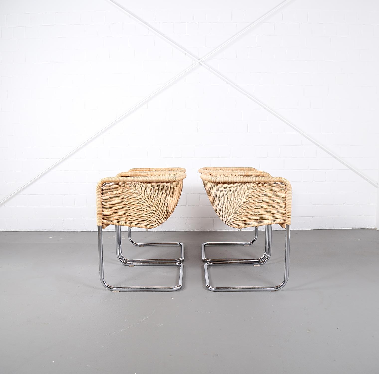 Tecta D43 Chair Stuhl Wicker Kastholm Fabricius Mart Stam