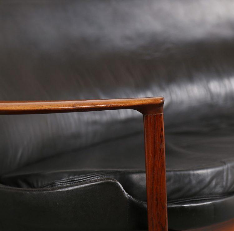 Ib Kofod-Larsen Sofa Elizabeth Larsen Christensen leather sofa Danish Design used gebraucht Vintage Classic Design Midecentury Modern Furniture