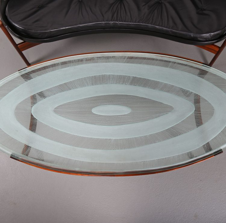 Ib Kofod-Larsen Coffee Table Elizabeth Larsen Christensen tisch sofa Danish Design used gebraucht Vintage Classic Design Midecentury Modern Furniture