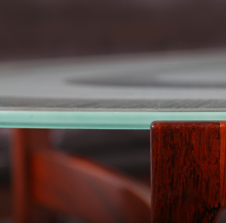Ib kofod larsen christensen larsen sofa table rosewood for Sofa gebraucht