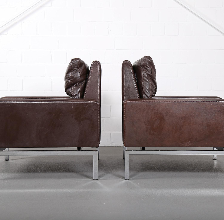 wilkhahn programm 800 leather sofa ledersofa 70er design designklassiker gebraucht 20 dekaden. Black Bedroom Furniture Sets. Home Design Ideas