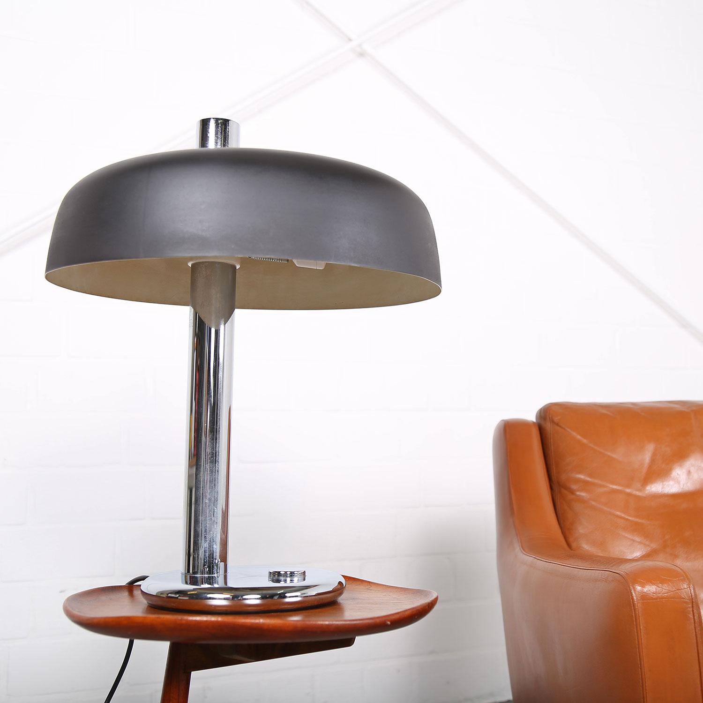 hillebrand leuchten lampe tischleuchte 70er midcentury modern lightning german used design large. Black Bedroom Furniture Sets. Home Design Ideas