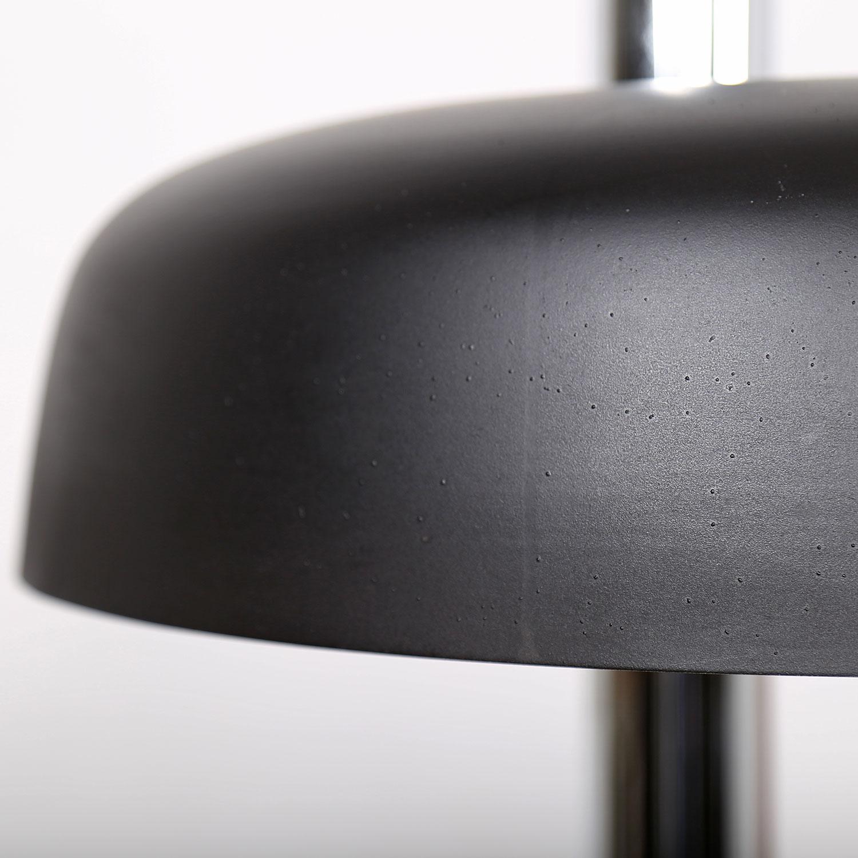 Hillebrand leuchten lampe tischleuchte 70er midcentury for Lampe geweih modern