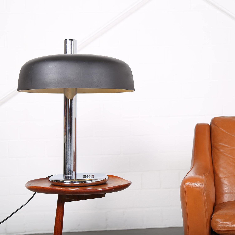 70s extra large hillebrand table lamp xxl vintage dekaden. Black Bedroom Furniture Sets. Home Design Ideas