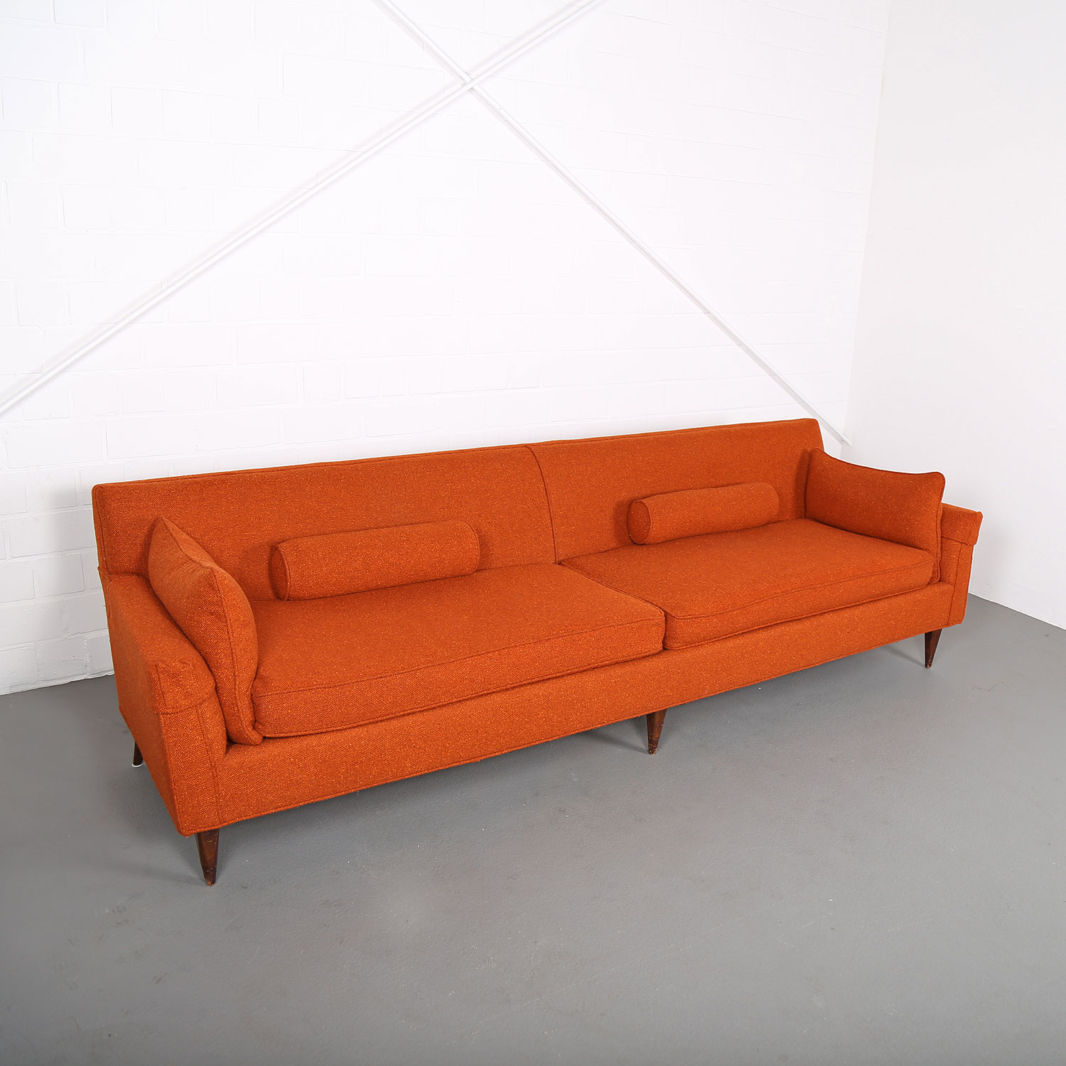 Mid century modern sofa usa kroehler edward wormley milo for Midcentury modern couch