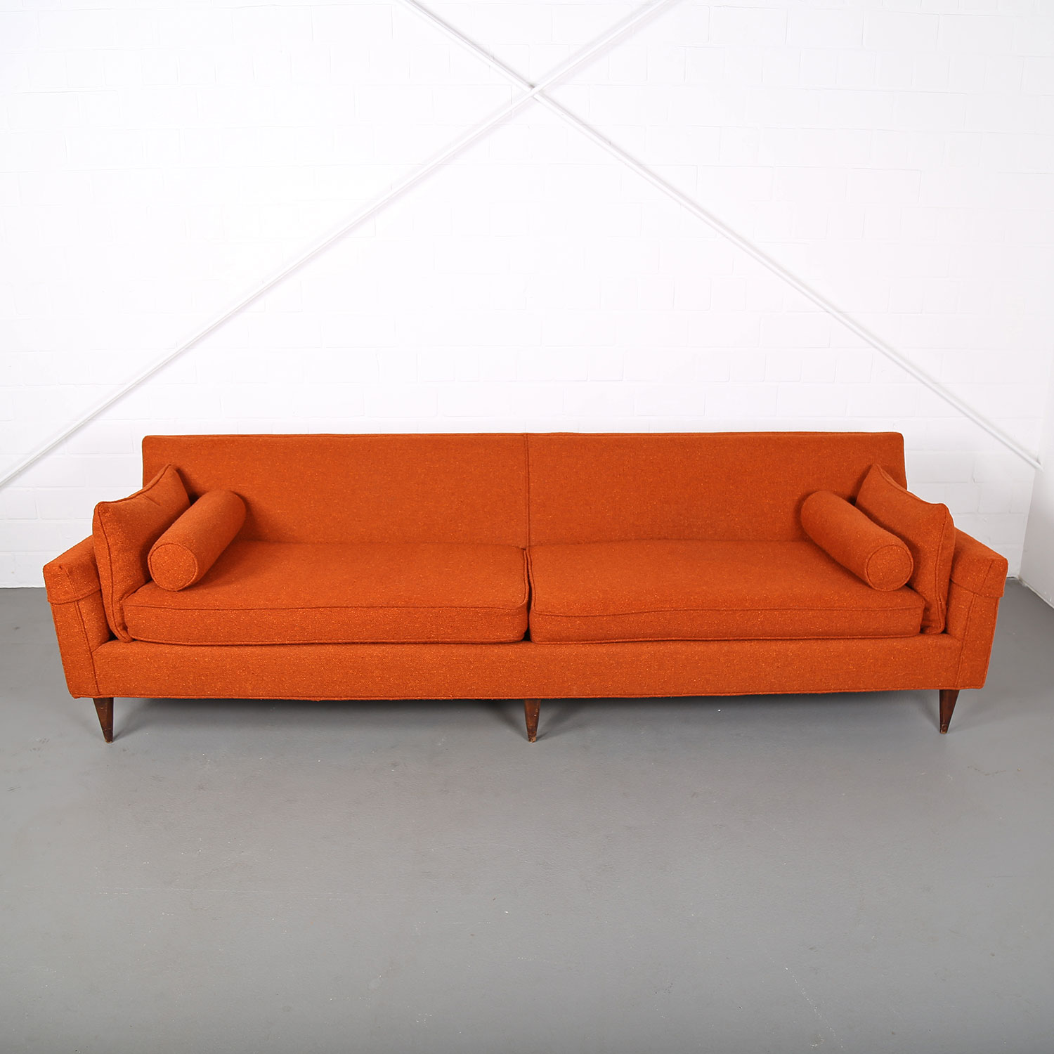 Mid Century Modern Sofa USA Kroehler Edward Wormley Milo