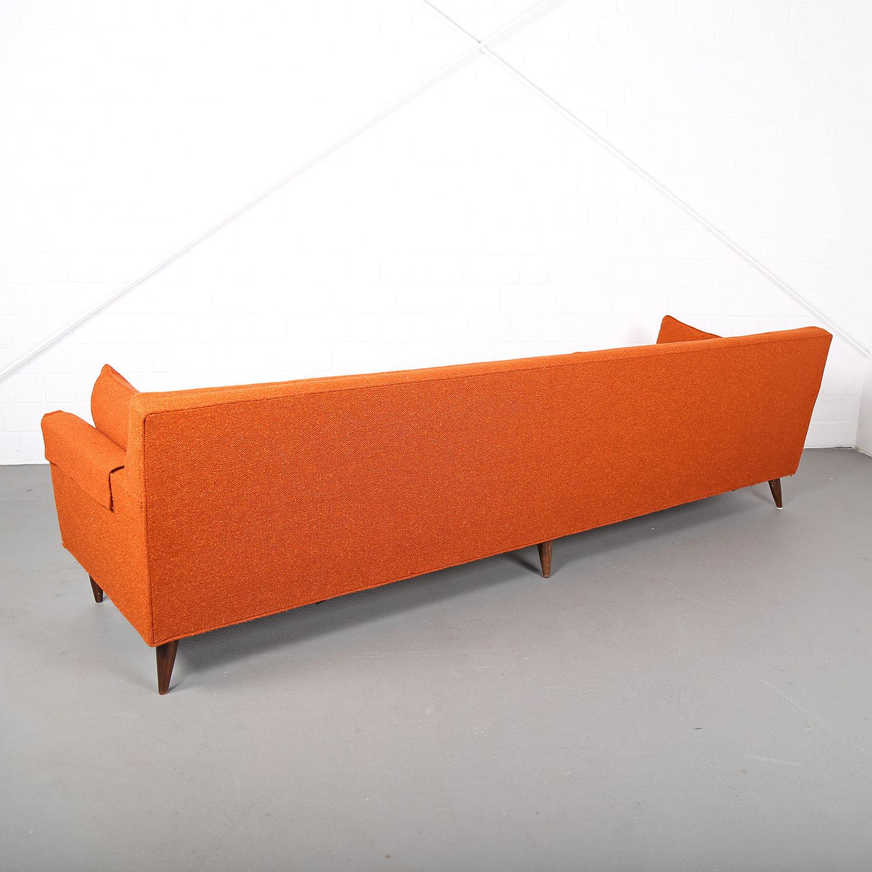 Mid Century Modern Vintage 3 Seater Sofa USA Dunbar attr – DEKADEN
