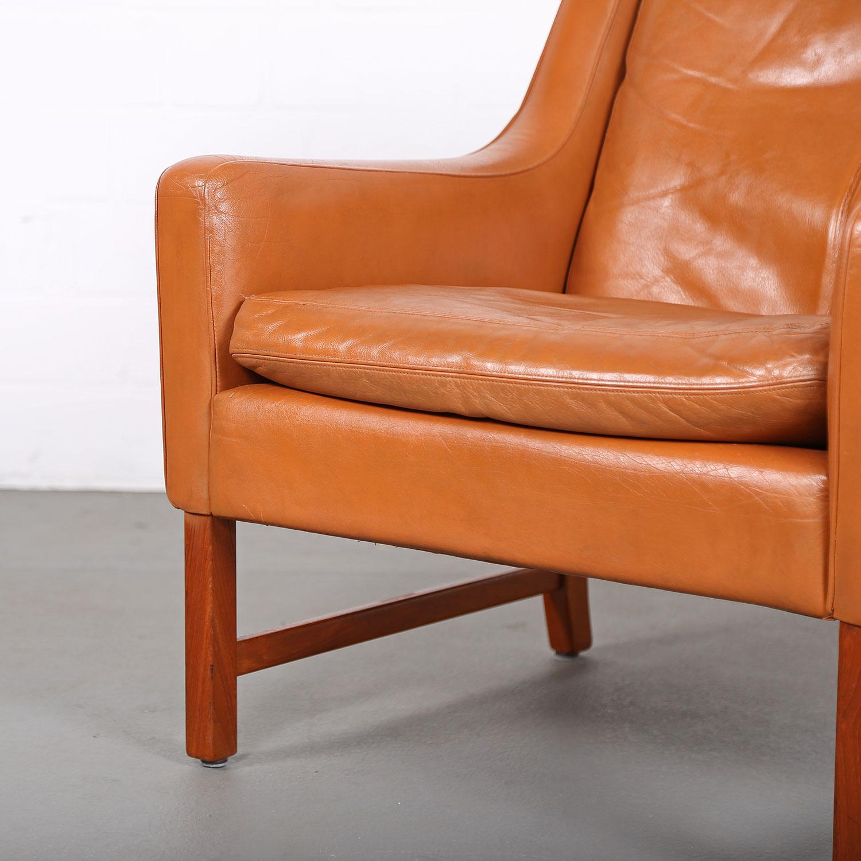 danish design easy chair fredrik kayser for vatne m bler dekaden. Black Bedroom Furniture Sets. Home Design Ideas