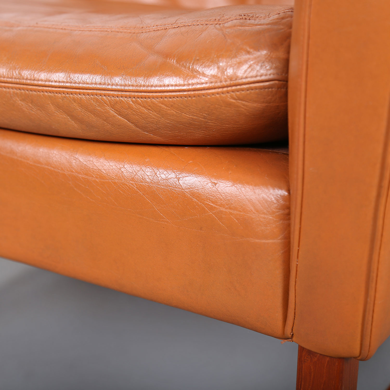 sessel ledersessel fredrik kayser vatne teak 60er midcentury modern design danish 14 dekaden. Black Bedroom Furniture Sets. Home Design Ideas