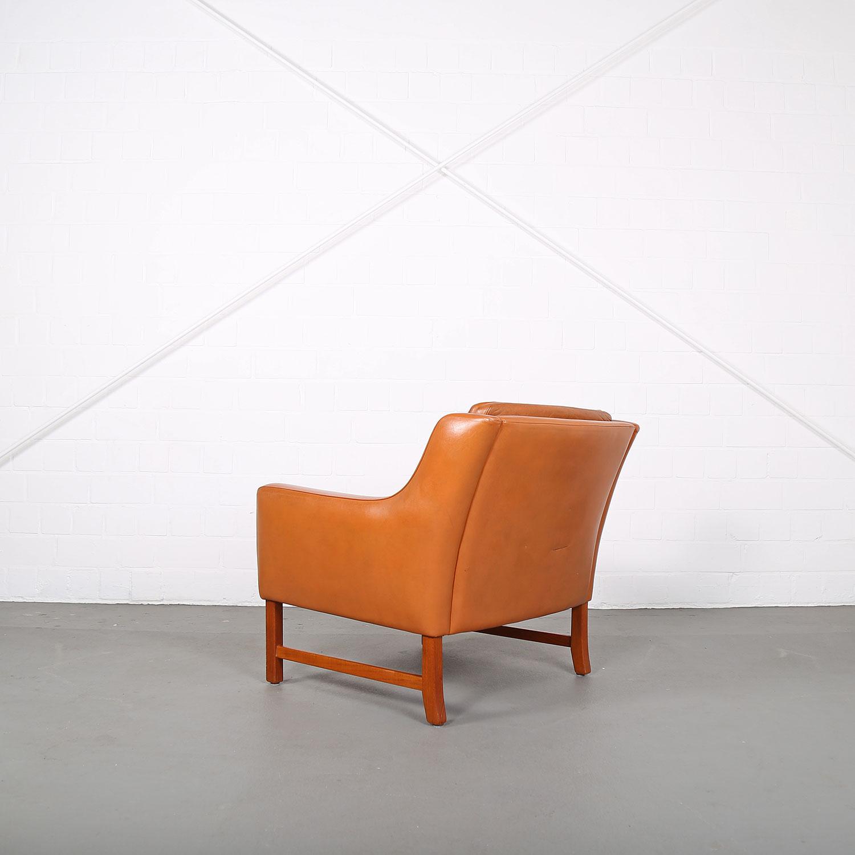 danish modern design easy chair fredrik kayser f r vatne. Black Bedroom Furniture Sets. Home Design Ideas
