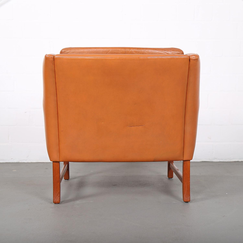 sessel ledersessel fredrik kayser vatne teak 60er midcentury modern design danish 27 dekaden. Black Bedroom Furniture Sets. Home Design Ideas