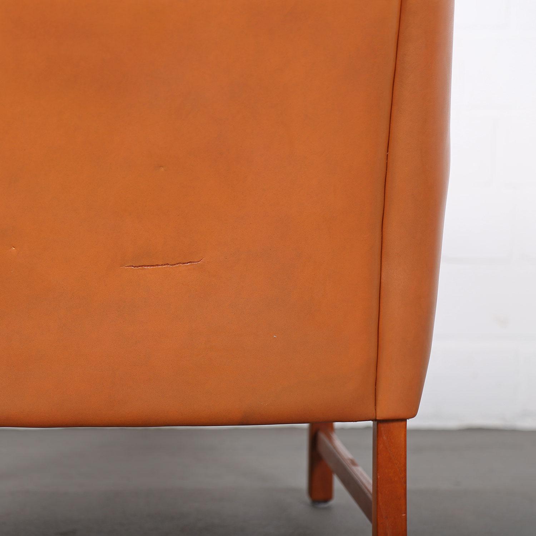 sessel ledersessel fredrik kayser vatne teak 60er midcentury modern design danish 28 dekaden. Black Bedroom Furniture Sets. Home Design Ideas