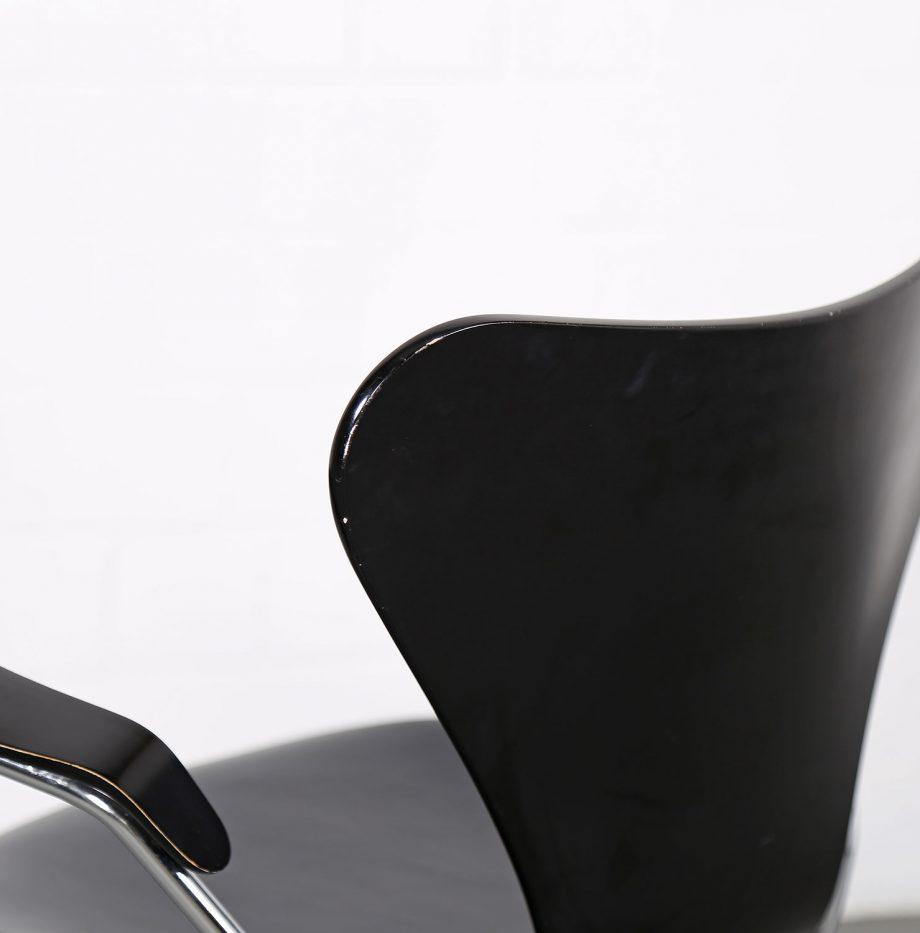 Arne_Jacobsen_Fritz_Hansen_Serie_7_Office_Chair_Buerostuhl_1994_Holz_Leder_Designklassiker_gebraucht_15