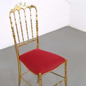 Chiavari Chair 60s brass Italy
