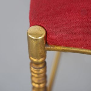 Chiavari Chair 60s brass Italy