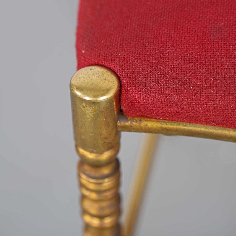 Chiavari Chair Italy 60s Brass Dekaden