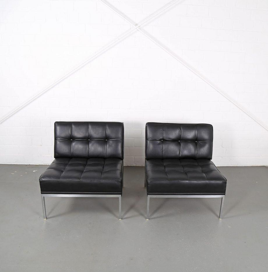 Constanze_Ledersessel_Johannes_Spalt_Wittmann_60er_Design_Set_Barcelona_Chair_01