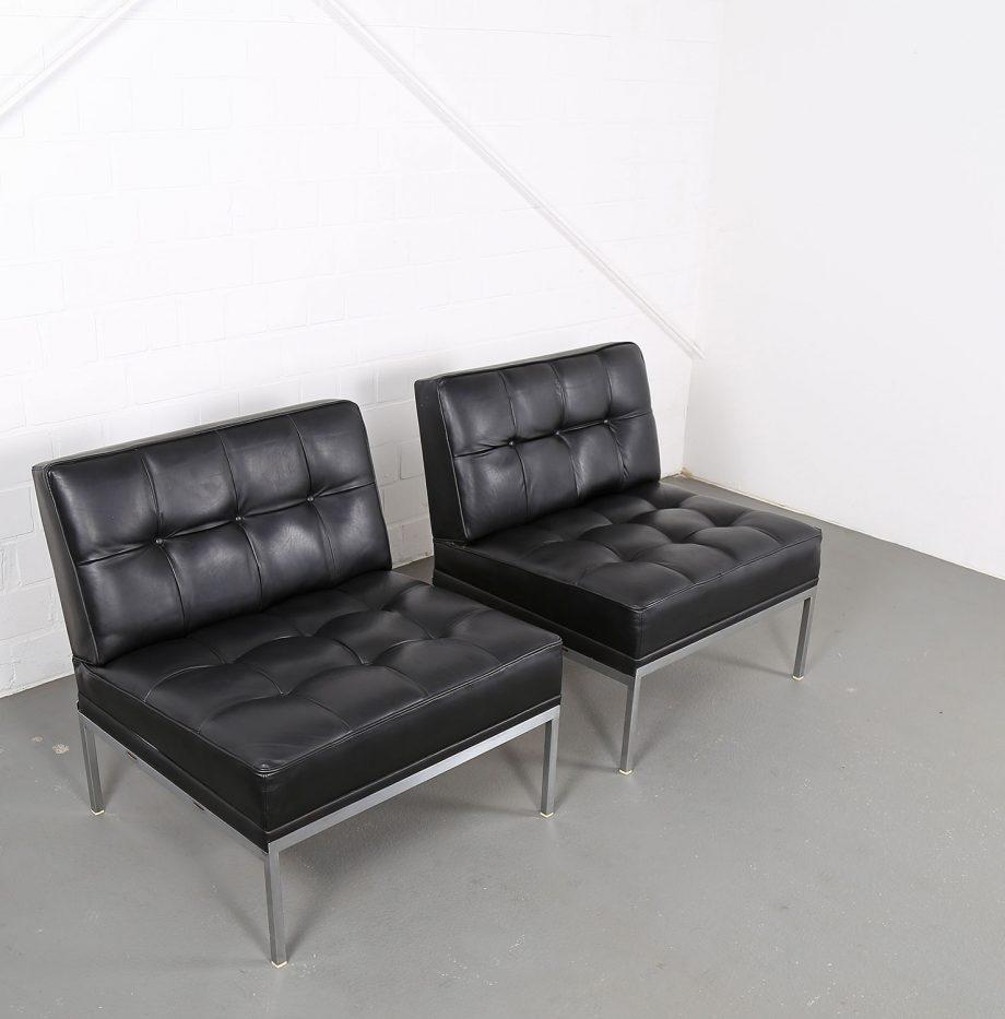 Constanze_Ledersessel_Johannes_Spalt_Wittmann_60er_Design_Set_Barcelona_Chair_05