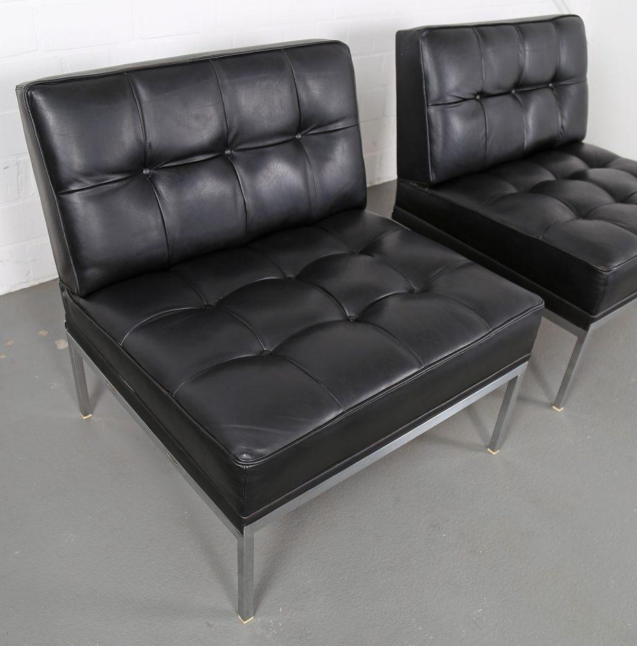 Constanze_Ledersessel_Johannes_Spalt_Wittmann_60er_Design_Set_Barcelona_Chair_07