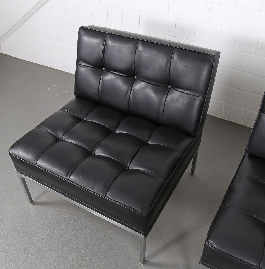 Constanze_Ledersessel_Johannes_Spalt_Wittmann_60er_Design_Set_Barcelona_Chair_10